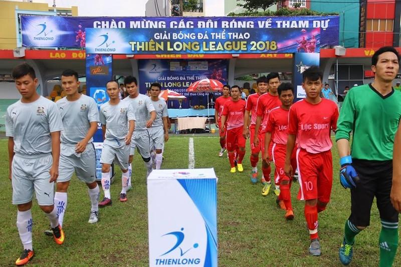 Khai mạc giải Thiên Long dành cho bóng đá 'phủi' - ảnh 1