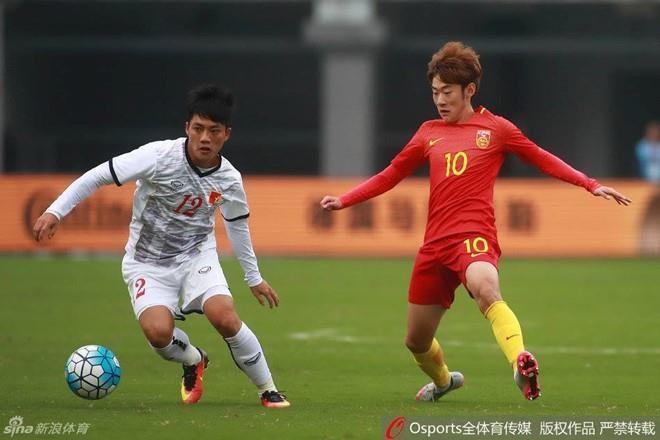 Tiến Linh lập cú đúp, U-22 Việt Nam thắng dễ U-22 Trung Quốc - ảnh 1