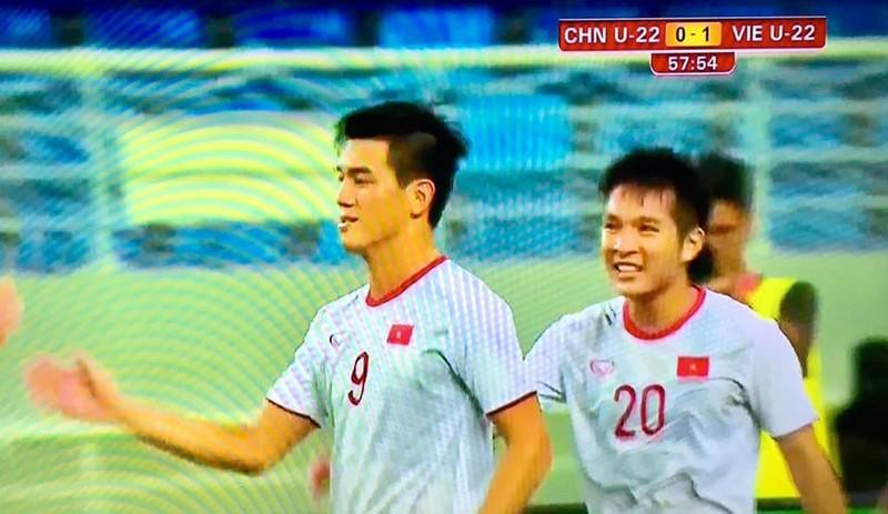 Tiến Linh lập cú đúp, U-22 Việt Nam thắng dễ U-22 Trung Quốc - ảnh 4