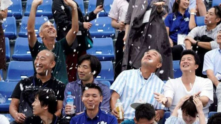 Nhật Bản thử nghiệm tuyết nhân tạo cho Olympic 2020 - ảnh 1