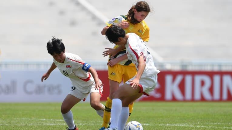 Triều Tiên đối đầu Nhật Bản ở chung kết - ảnh 1