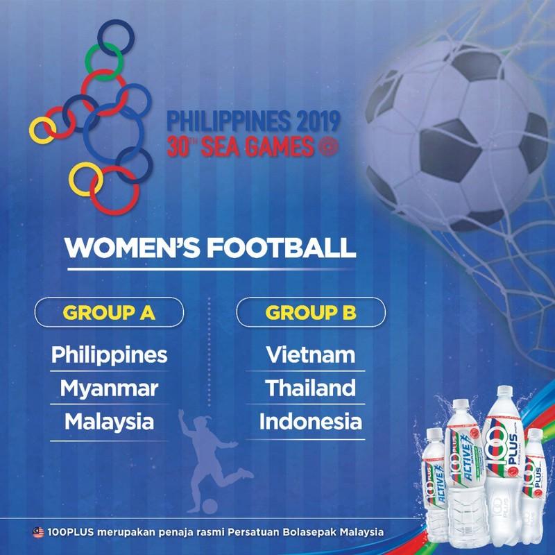 Bóng đá nữ SEA Games 30 cũng cùng bảng với Thái Lan - ảnh 3