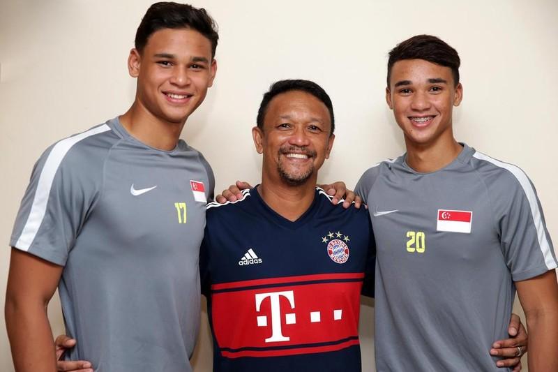 Đối trọng của thầy Park đưa cả hai con trai vào đội U-22 - ảnh 1