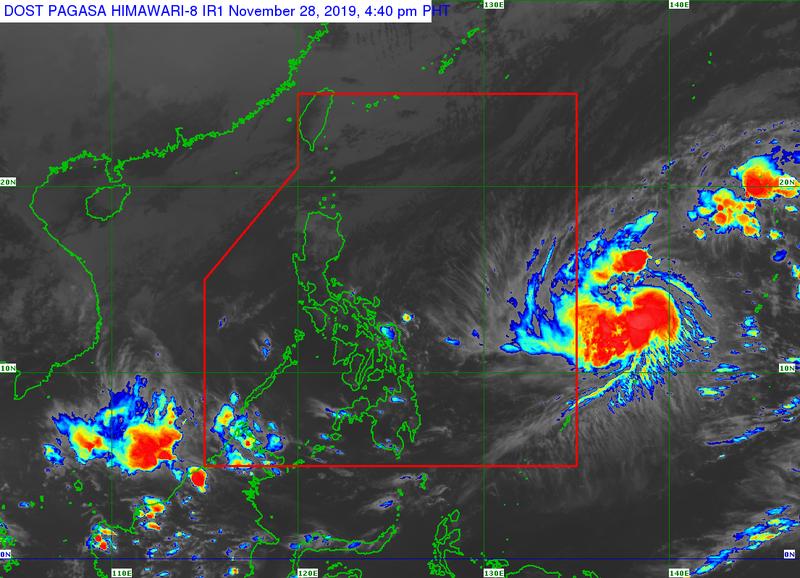 Bão Kammuri 'tấn công' Philippines ngày khai mạc SEA Games 30 - ảnh 1