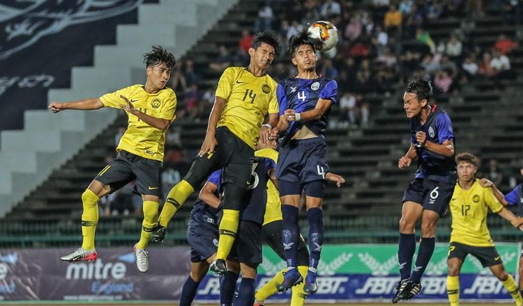 U-20 Campuchia quyết đá cho 'ra ngô, ra khoai' - ảnh 1