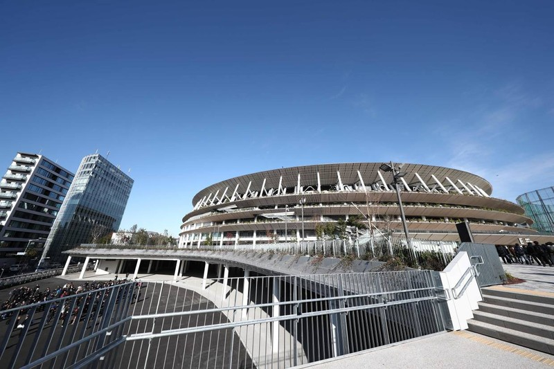Nhật khánh thành sân Olympic trị giá 1,13 tỉ euro - ảnh 1