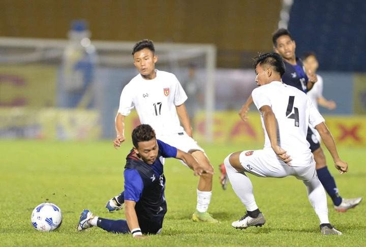 Thua Myanmar, U-20 Campuchia không thể 'đòi nợ' cho đàn anh - ảnh 1