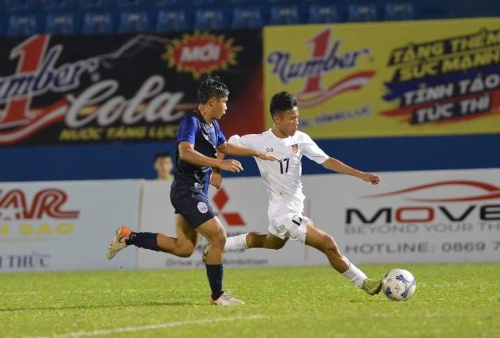 Thua Myanmar, U-20 Campuchia không thể 'đòi nợ' cho đàn anh - ảnh 2
