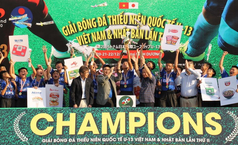 Các đội Việt Nam vượt qua các đội trẻ Nhật Bản - ảnh 5