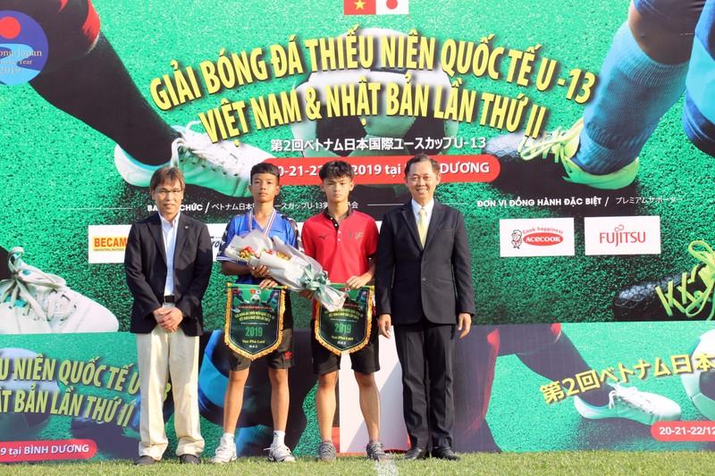 Các đội Việt Nam vượt qua các đội trẻ Nhật Bản - ảnh 3