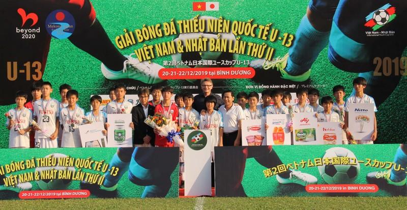 Các đội Việt Nam vượt qua các đội trẻ Nhật Bản - ảnh 2