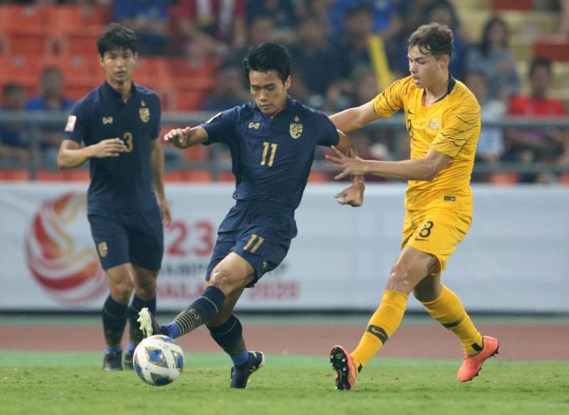 Úc ngược dòng đánh bại Thái Lan - ảnh 1