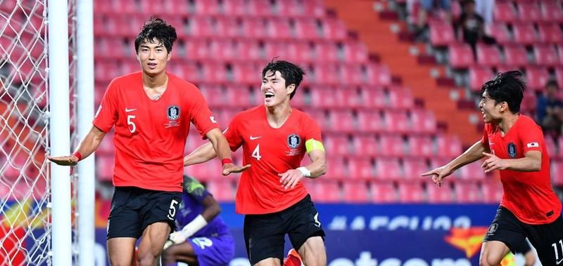 Thắng kịch tính Saudi Arabia, Hàn Quốc vô địch U-23 châu Á - ảnh 1