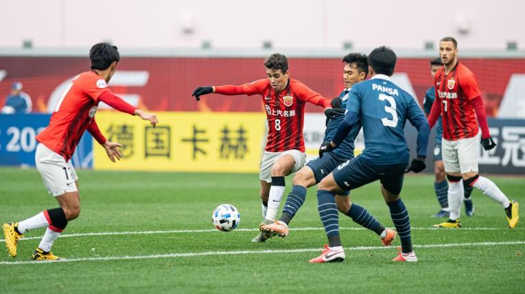 Buriram Utd trắng tay rời Trung Quốc - ảnh 1