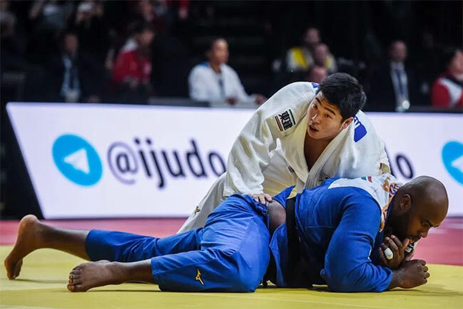 Huyền thoại Judo Pháp đã bị 'hạ bệ' - ảnh 1