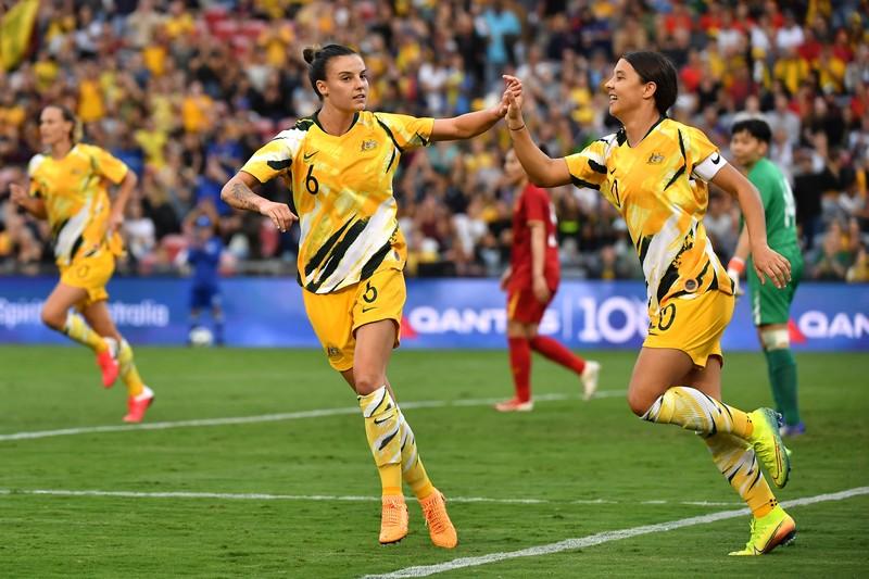 Thua đậm Úc, Việt Nam khó giành vé dự Olympic 2020 - ảnh 1