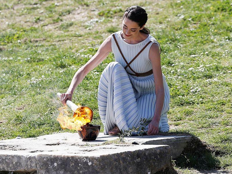 Olympic 2020 bắt đầu từ huyền thoại bị 'toang' vì COVID-19 - ảnh 2