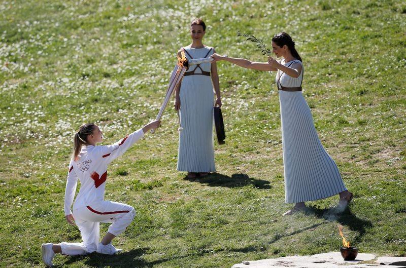 Olympic 2020 bắt đầu từ huyền thoại bị 'toang' vì COVID-19 - ảnh 3