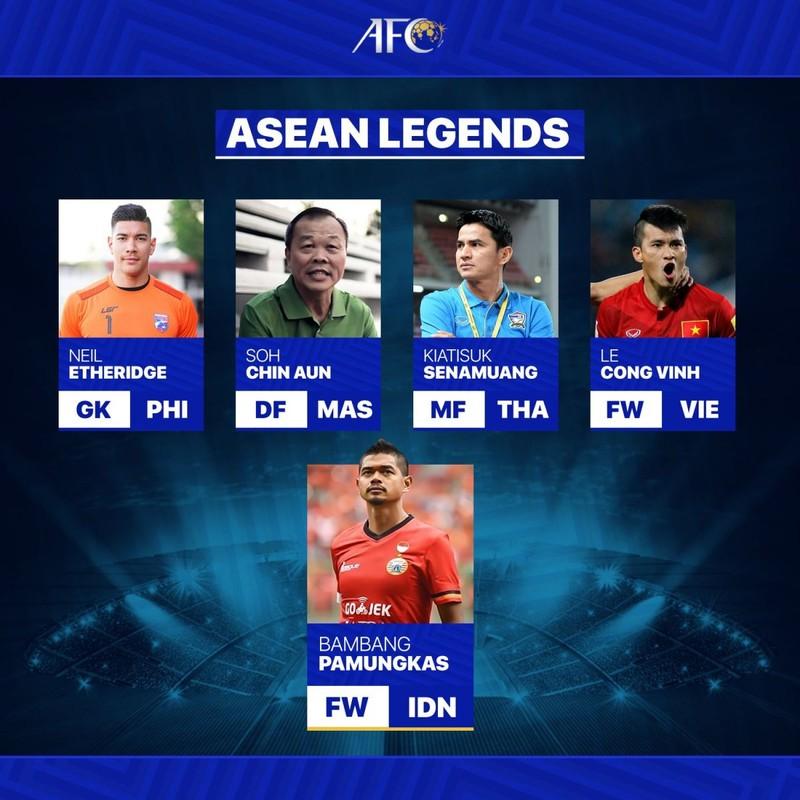 AFC vinh danh 5 huyền thoại bóng đá Đông Nam Á: Việt Nam có ai - ảnh 1