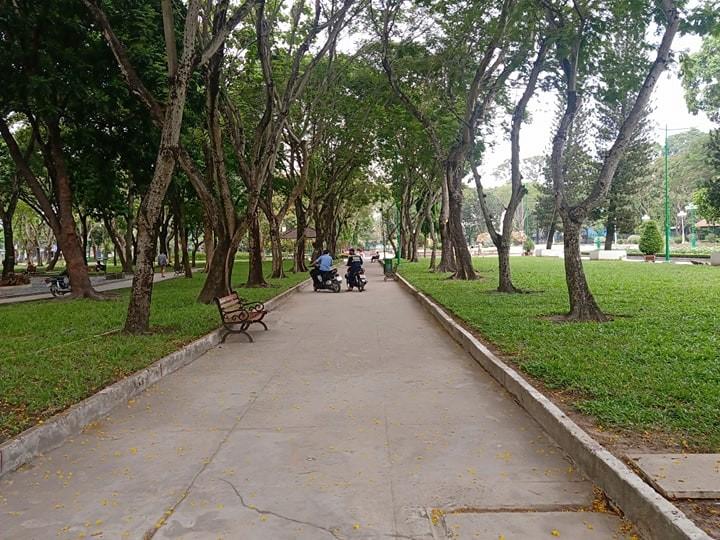 Công viên Lê Văn Tám 'off' với người tập thể dục - ảnh 6