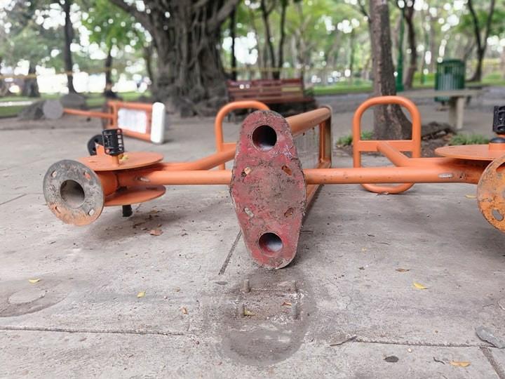 Công viên Lê Văn Tám 'off' với người tập thể dục - ảnh 5