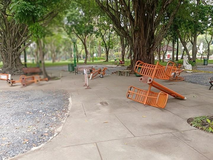 Công viên Lê Văn Tám 'off' với người tập thể dục - ảnh 7