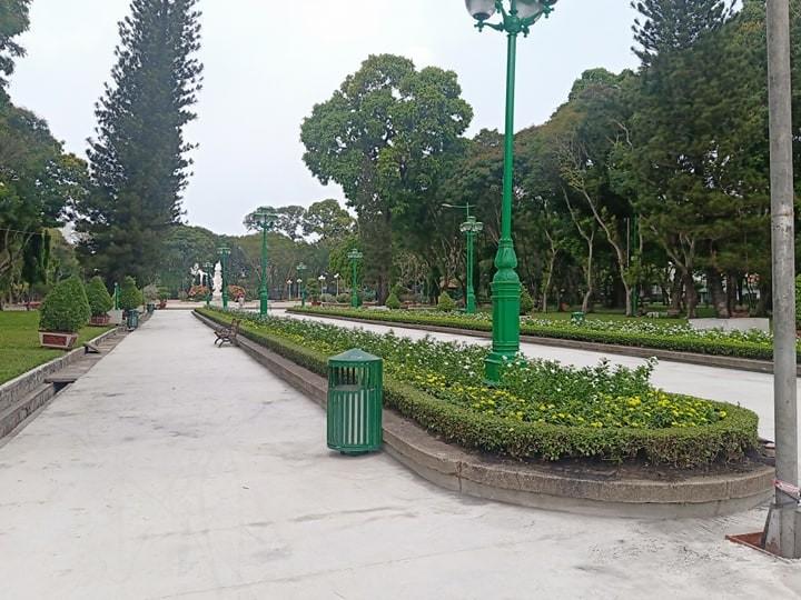 Công viên Lê Văn Tám 'off' với người tập thể dục - ảnh 2