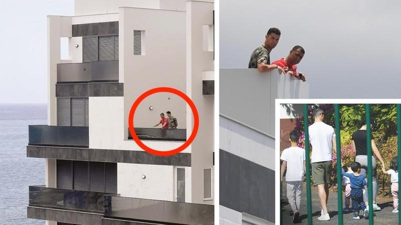 Ronaldo làm gì trong biệt phủ mùa dịch COVID-19? - ảnh 2