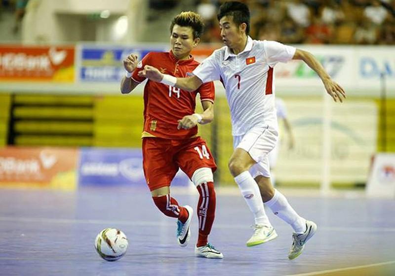 Futsal Myanmar có thầy... 'khủng' - ảnh 1