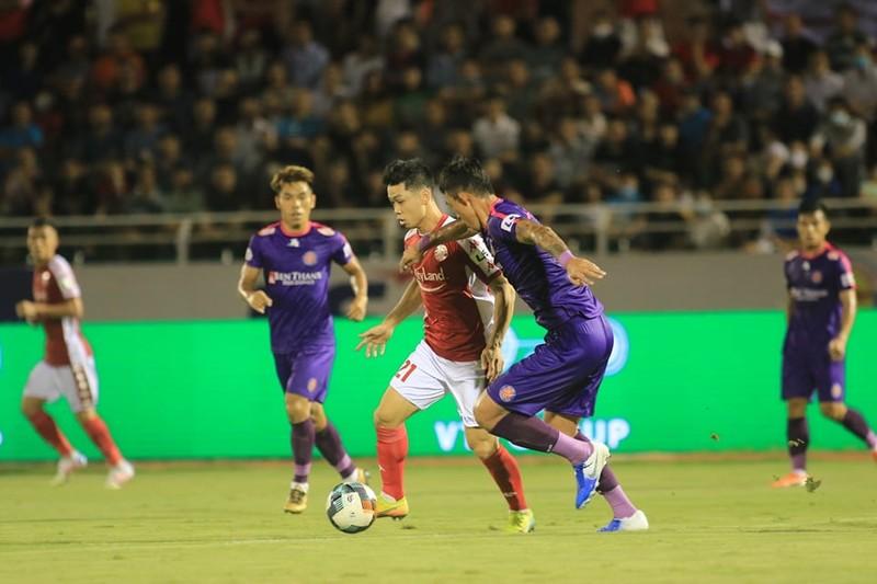 Sài Gòn FC soán ngôi đầu V-League của TP.HCM, nhóm 1 cực căng - ảnh 3