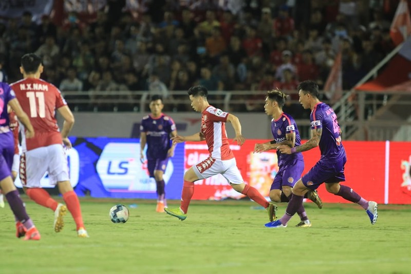 Sài Gòn FC soán ngôi đầu V-League của TP.HCM, nhóm 1 cực căng - ảnh 2