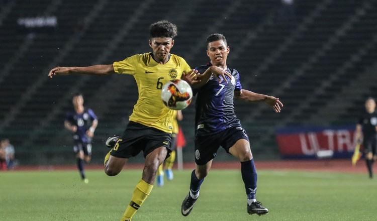 U-19 Campuchia thích làm 'kèo dưới', không than vãn - ảnh 1