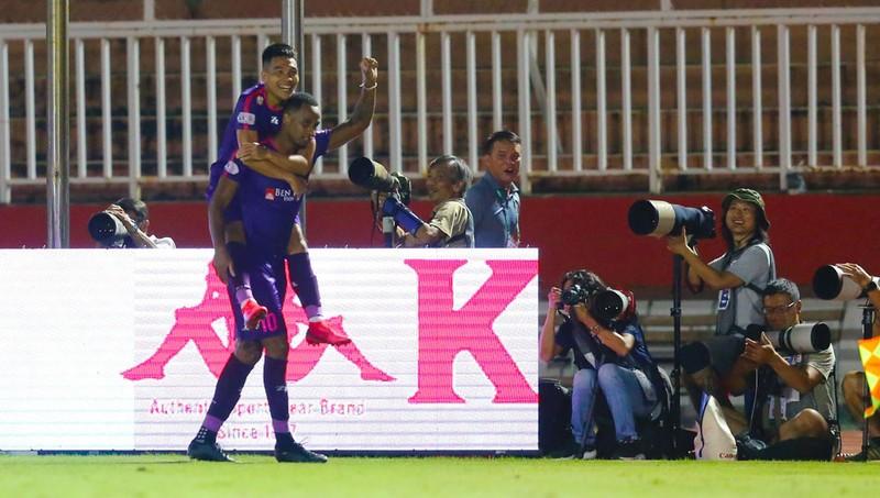 Hồng Lĩnh Hà Tĩnh gai góc, Sài Gòn FC bị chia điểm - ảnh 2