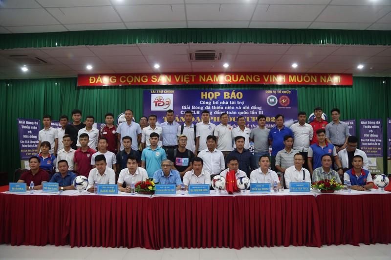 Kỷ lục trên 300 đội đăng ký dự giải 'thiếu niên và nhi đồng' - ảnh 2