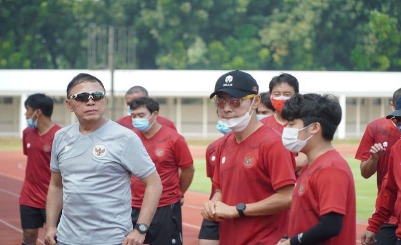 Shin Tae-yong chơi lớn cùng U-19 Indonesia - ảnh 1