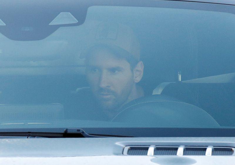 Messi được kiểm tra y tế tại nhà rồi đến sân tập - ảnh 1