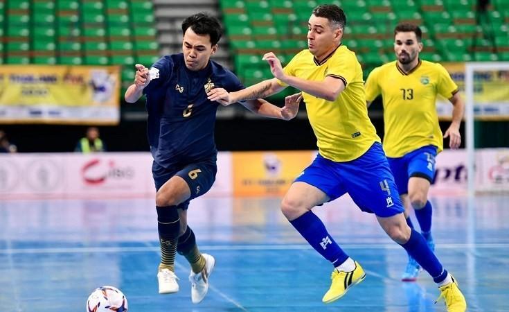 Samba đến Thái 'dạy' Futsal và giành cúp vàng - ảnh 1