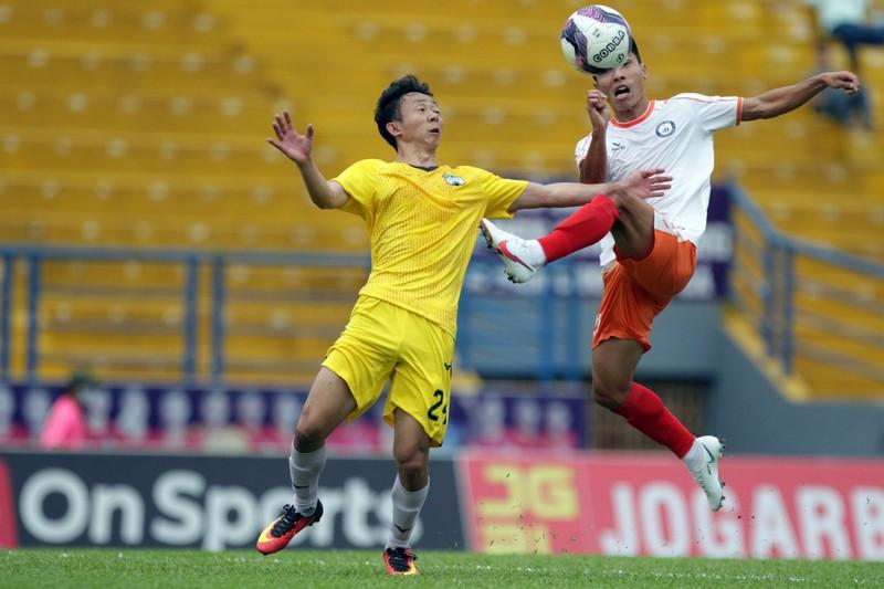 HA Gia Lai ngược dòng thắng trận đầu tiên dưới thời Kiatisak - ảnh 2