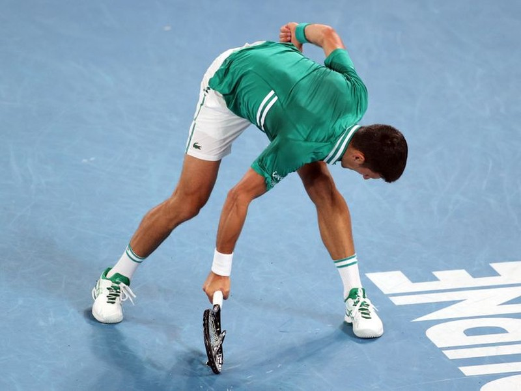 Djokovic nói gì về sự nóng nảy đập vợt của mình? - ảnh 2