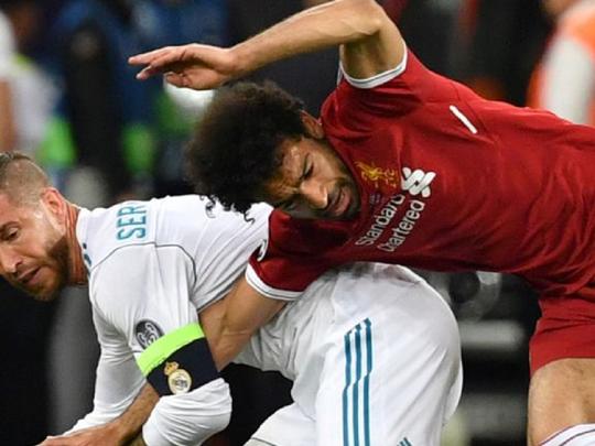 Salah: 'Tôi không dám lại gần Ramos nữa đâu!' - ảnh 1