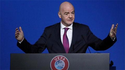 Chủ tịch FIFA lần đầu lên tiếng về giải Super League - ảnh 1