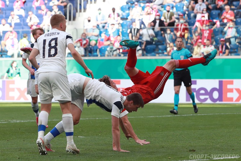 Mario Fernandes té ngã và chia tay Euro 2020 - ảnh 1