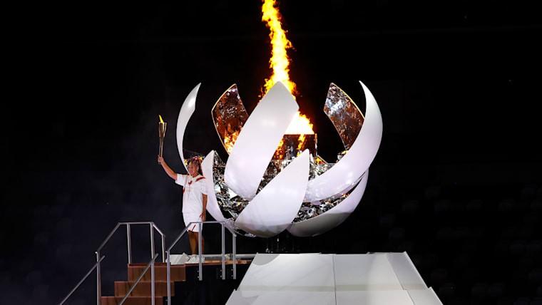 Hình ảnh lung linh đêm khai mạc Olympic Tokyo - ảnh 2