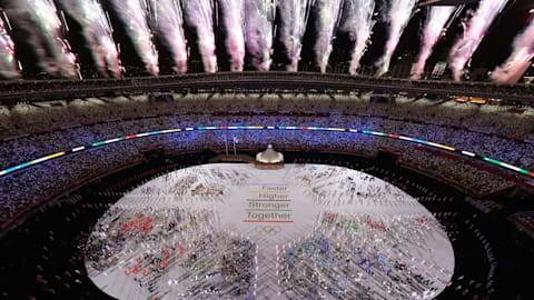 Hình ảnh lung linh đêm khai mạc Olympic Tokyo - ảnh 9