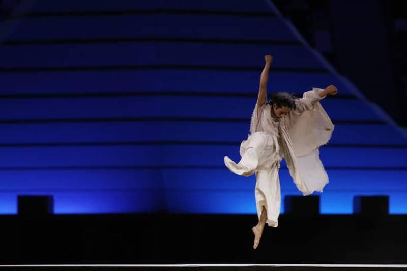 Hình ảnh lung linh đêm khai mạc Olympic Tokyo - ảnh 7