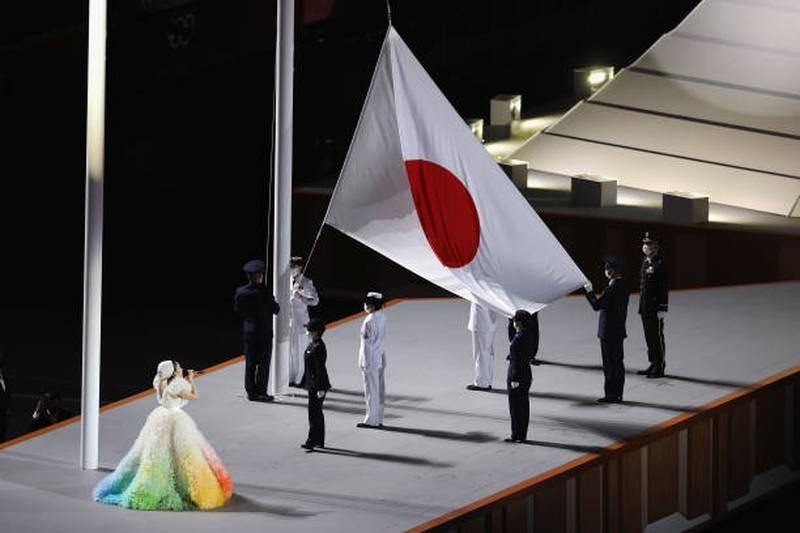 Hình ảnh lung linh đêm khai mạc Olympic Tokyo - ảnh 10