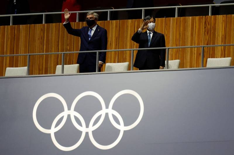 Hình ảnh lung linh đêm khai mạc Olympic Tokyo - ảnh 4