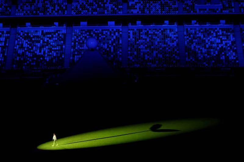 Hình ảnh lung linh đêm khai mạc Olympic Tokyo - ảnh 8