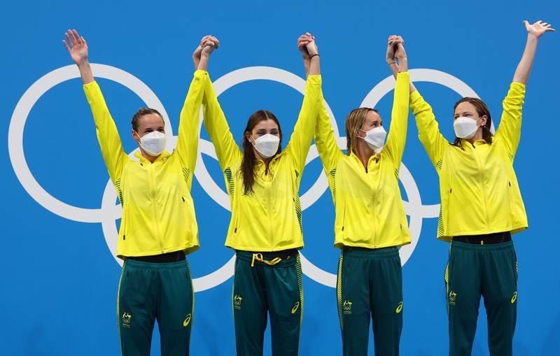 Những nhà vô địch Olympic Tokyo qua ảnh - ảnh 4