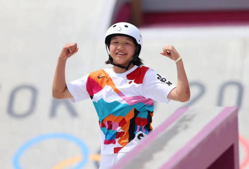 Bé gái 13 tuổi đoạt HCV Olympic - ảnh 1